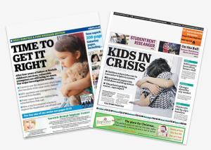 Children in Care in Newspaper