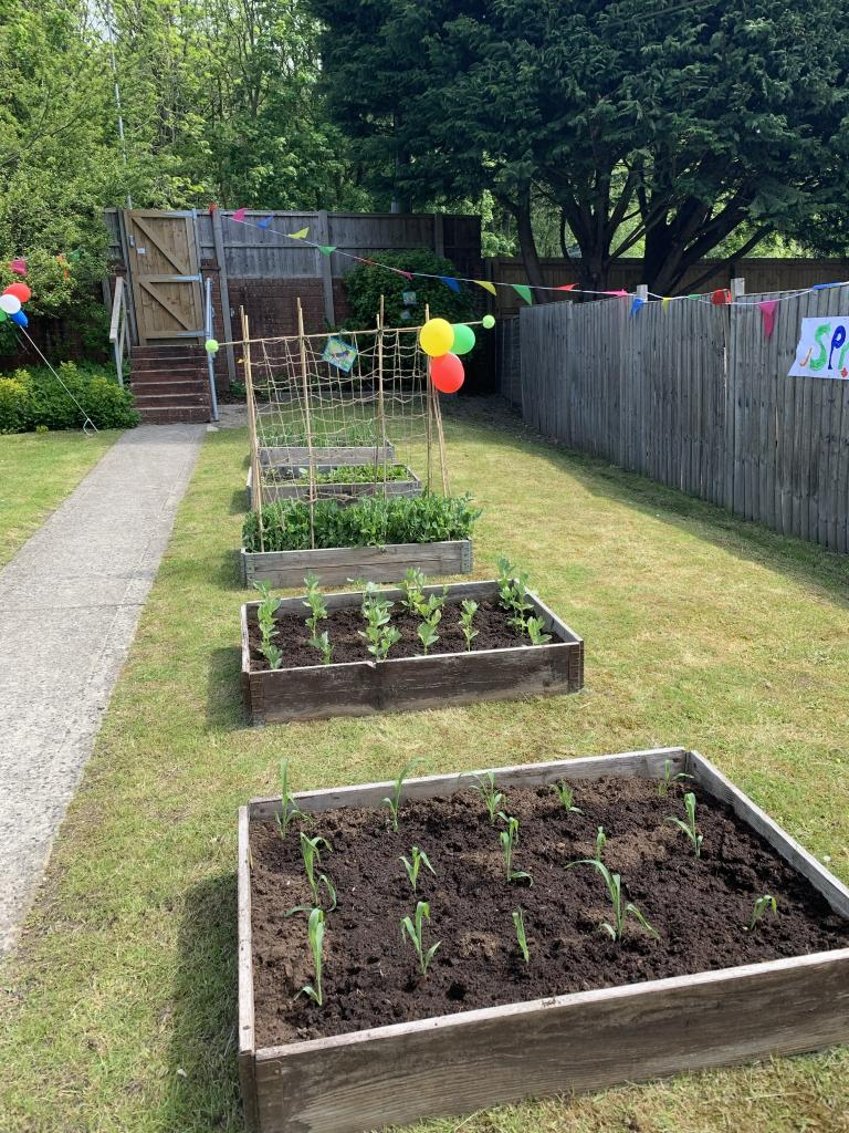 Allotments at Five Rivers Child Care